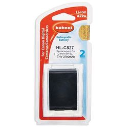 Hahnel akumulator HL-C827/HL-C828 (zamiennik Canon BP-827)