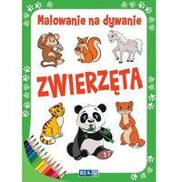 Książki dla dzieci, Malowanie na dywanie. Zwierzęta (opr. miękka)