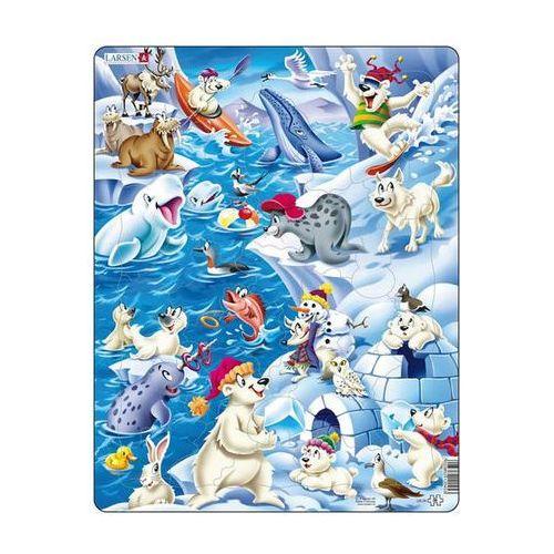 Puzzle, Puzzle MAXI - Arktický ledový život/36 dílků neuveden
