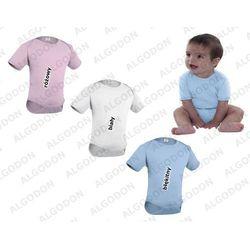 Dziecięce body różne kolory VALENTO Teddy rozowy 0-6-miesiecy