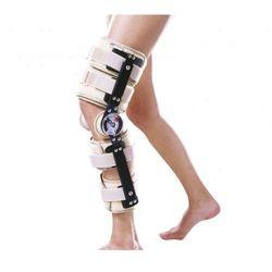 Orteza stawu kolanowego z zegarami, regul. długością. Beżowa lub Czarna