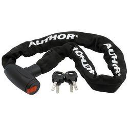 Zapięcie, łańcuch z kłódką Author Achl-55 8x90 czarne