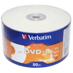 Płyty DVD-R Verbatim DataLife Inkjet Printable 16x 4.7GB
