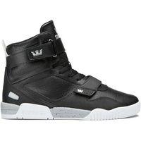 Męskie obuwie sportowe, buty SUPRA - Breaker Black-Lt Grey/White (071) rozmiar: 40.5