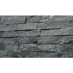 ŁUPEK BLACK 60x15x1,5-2cm Panel