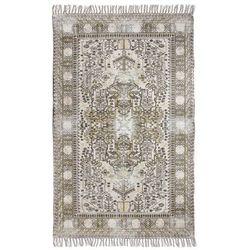 HK Living Łatany dywan z bawełny z wzorkami (180x280) TTK3019