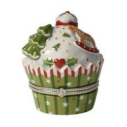 Villeroy & Boch - Szkatułka w kształcie ciastka, mufinki - Winter Bakery Decoration 14-8613-6848
