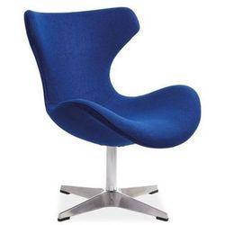 Nowoczesny fotel FELIX blue