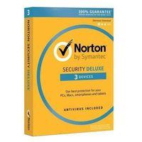 Oprogramowanie antywirusowe, Norton Security Deluxe 3 urządzeń / 2 lata Polska wersja językowa! / szybka wysyłka na e-mail / Faktura VAT / 32-64BIT / WYPRZEDAŻ