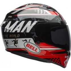 BELL KASK QUALIFIER DLX MIPS ISLE OF MAN BLACK/RED