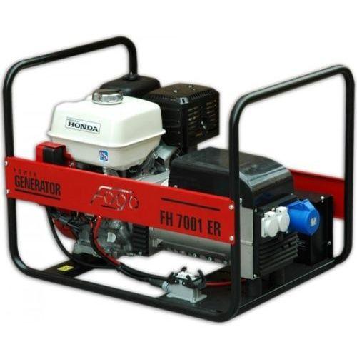 Agregaty, Generator prądu FOGO FH 7001 R Honda 230V 5,8 kW z AVR