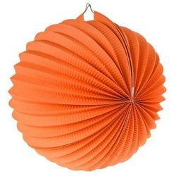 Lampion dekoracyjny kula pomarańczowy śr.25cm