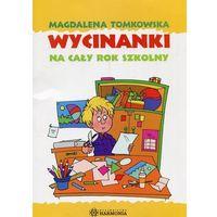 Książki dla dzieci, Wycinanki na cały rok szkolny (opr. kartonowa)