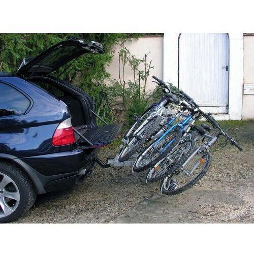 Bagażniki rowerowe do samochodu, Bagażnik na rowery platforma EUFAB LUKE na 4 rowery
