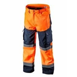 Spodnie robocze SOFTSHELL pomarańczowe XL NEO