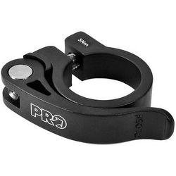 PR900111 Obejma podsiodłowa PRO z zaciskiem 28,6 mm czarna