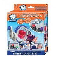 Kreatywne dla dzieci, 3D Magic - Fabryka 3D - Spinner Kreuj w 3D, 3 rodzaje