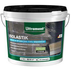 Izolacja bitumiczna średniowarstwowa Ultrament Isolastik 10 l