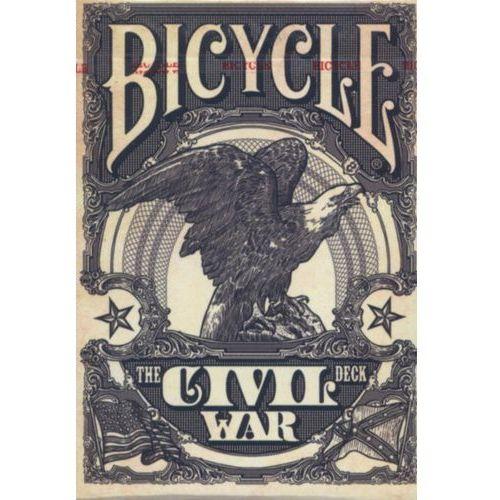 Gry dla dzieci, Karty do gry Bicycle CIVIL WAR