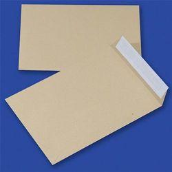 Koperty z taśmą silikonową OFFICE PRODUCTS, HK, C4, 229x324mm, 90gsm, 10szt., brązowe