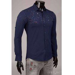 Męska koszula ELTON NAVY