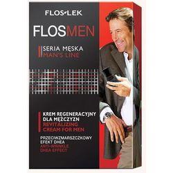 Floslek FlosMen Przeciwzmarszczkowy krem regeneracyjny efekt DHEA - FLOS-LEK