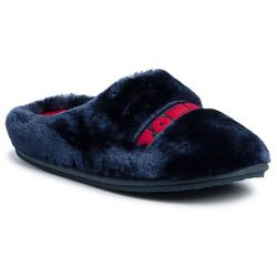 Kapcie TOMMY HILFIGER - Tommy Womens Fur Slipper FW0FW04367 RWB 020