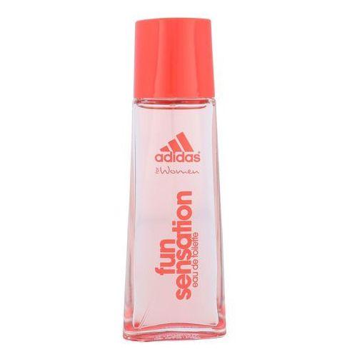 Wody toaletowe damskie, Adidas Fun Sensation Woman 50ml EdT