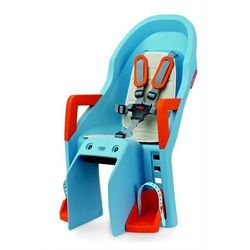 Fotelik dziecięcy Polisport Guppy Maxi FF - błękitno/pomarańczowy