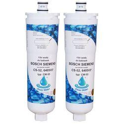 "Filtr wody do lodówki BOSCH SIEMENS CS-52, CLEAN-WATER"" CW55"