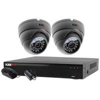 Zestawy monitoringowe, Monitoring do domu 2x kamera IR25m LV-AL25MD + Rejestrator LV-XVR44N + akcesoria