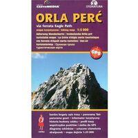 Mapy i atlasy turystyczne, Orla Perć via ferrata Mapa turystyczna 1:5 000 (opr. twarda)