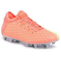 Piłka nożna, Buty PUMA - Future 5.4 Osg Fg/Ag 105941 01 Nrgy Peach/Fizzy Yellow