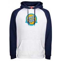 bluza SANTA CRUZ - Dot Reflection Hood Dark Navy/White (DARK NAVY-WHITE) rozmiar: S