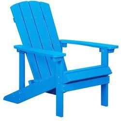 Krzesło ogrodowe niebieskie ADIRONDACK
