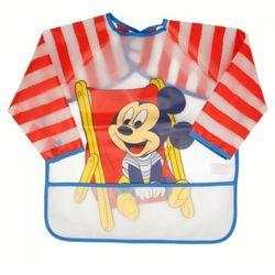 Mickey Mouse - Śliniak z rękawami i kieszonką