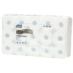 Papier toaletowy, standardowa rolka domowa, z ligniny, 3-warstwowy, biały, opak.