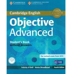 Objective Advanced Student's Book without Answers with CD-RO (opr. miękka)