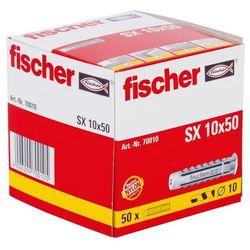 Kołek rozporowy Fischer, 10 x 50 mm, zestaw, 50 szt.