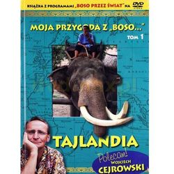 """Moja przygoda z """"Boso...` Tom 1. Tajlandia (książka + DVD) - Sławomir Makaruk"""