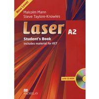 Książki do nauki języka, Laser A2 Książka Ucznia Plus CD-ROM (opr. miękka)