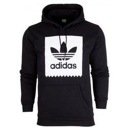 adidas Originals SOLID BB Bluza z kapturem black/white