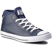 Męskie obuwie sportowe, Trampki CONVERSE - Ctas Syde Street Mid 157539C Midnight Navy/Midnight Navy