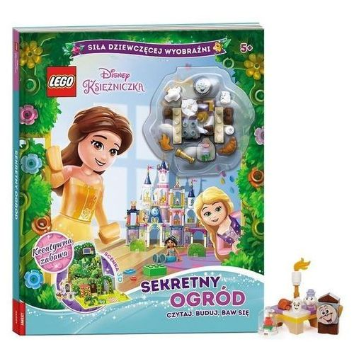 Książki dla dzieci, Lego Disney Księżniczka Sekretny Ogród Czytaj, Buduj, Baw Się - Praca zbiorowa (opr. twarda)