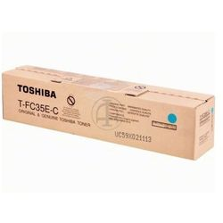 Toshiba toner Cyan T-FC35E-C, TFC35EC, 6AG00001524, 6AJ00000050