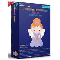 Kreatywne dla dzieci, Zestaw kreatywny aniołek z filcu polly
