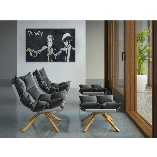 Obrazy, Banksy - Pulp fiction - nowoczesny obraz na płótnie