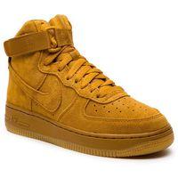 Buty sportowe dla dzieci, Buty NIKE - Air Force 1 High Lv8 (GS) 807617 701 Wheat/Wheat Gum Light Brown