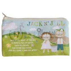 JACK-N-JILL SLEEPOVER BAG 1szt. - bawełniana saszetka na szczoteczkę i pastę