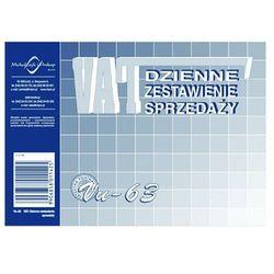 Dzienne zestawienie sprzedaży VAT (OFFSET) MICHALCZYK I PROKOP A6 - X04707